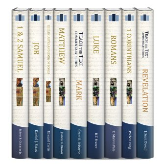 Teach the Text Commentary Series (9 vols.)