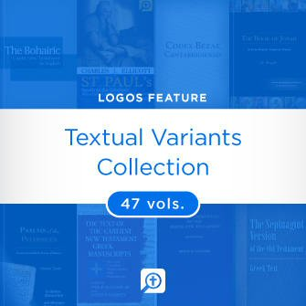 Textual Variants Collection (48 vols.)