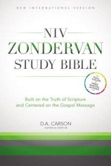 NIV Zondervan Study Bible (NIVZSB)