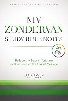 NIV Zondervan Study Bible Notes (NIVZSB)