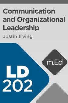 Mobile Ed: LD202 Communication and Organizational Leadership
