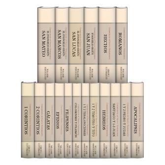 Comentario al Nuevo Testamento de Hendriksen y Kistemaker (18 vols.)