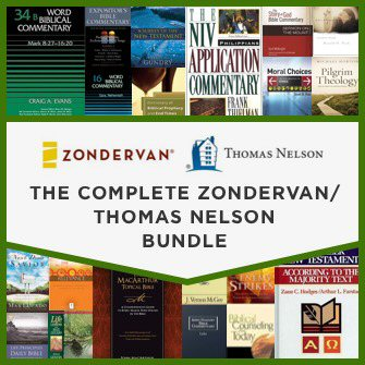 The Complete Zondervan / Thomas Nelson Bundle (900 vols.)