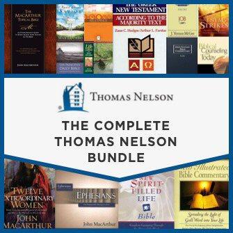 The Complete Thomas Nelson Bundle (515 vols.)