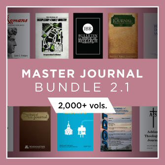 Master Journal Bundle 2.1 (1,700+ vols.)