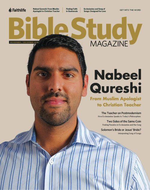 Bible Study Magazine—November–December 2015 Issue