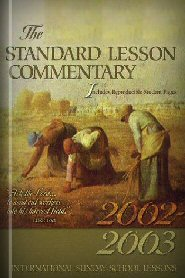 Standard Lesson Commentary, 2002–2003