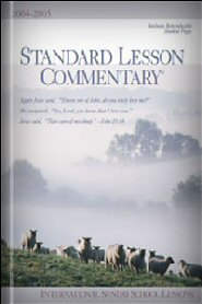 Standard Lesson Commentary, 2004–2005