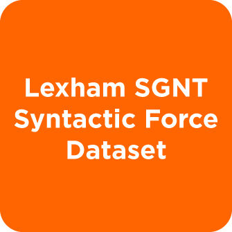Lexham SGNT Syntactic Force Dataset