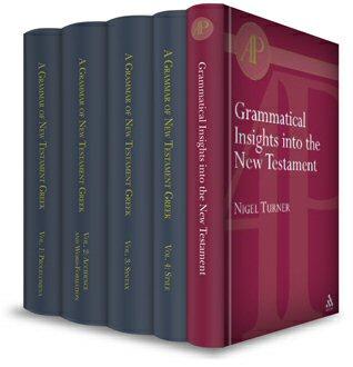 Moulton-Howard-Turner Greek Grammar Collection (5 vols.)