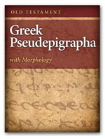 Old Testament Greek Pseudepigrapha with Morphology