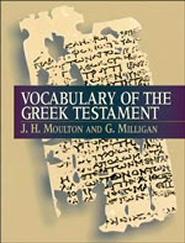 Vocabulary of the Greek Testament