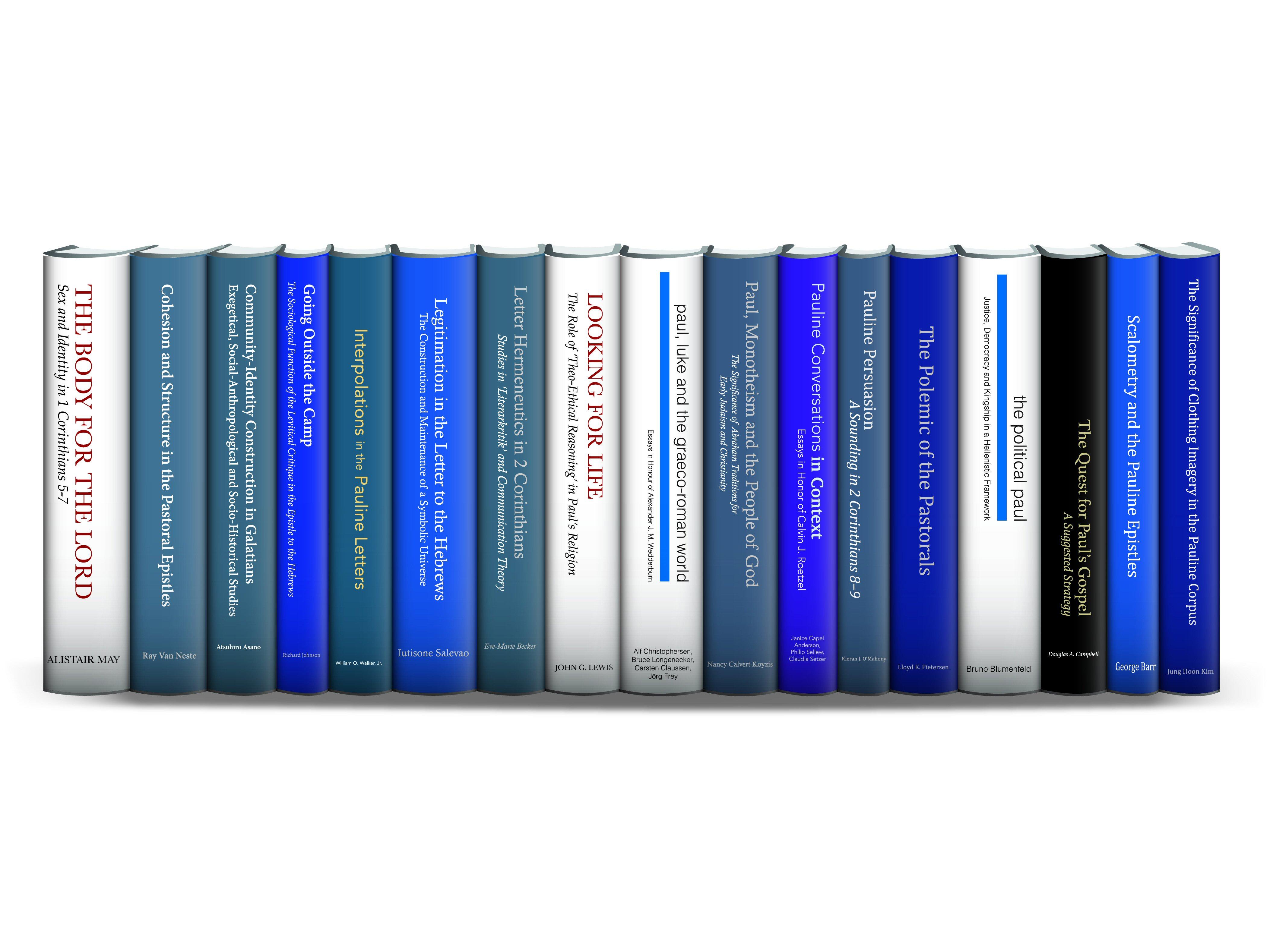 Library of NT Studies: JSNTS on Paul (17 vols.)