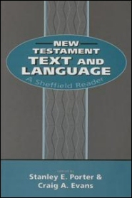 New Testament Text and Language