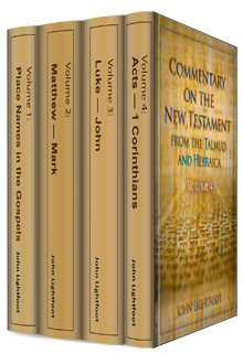 A Commentary on the New Testament from the Talmud and Hebraica (4 vols.)