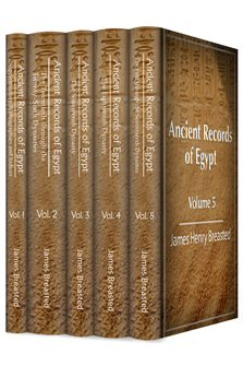 Ancient Records of Egypt (5 vols.)