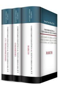 Comentario exegético al texto griego del NT: Marcos, Colosenses y Tesalonicenses (3 vols)