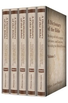 A Dictionary of the Bible (5 vols.)