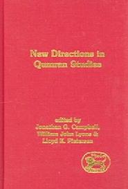 New Directions in Qumran Studies