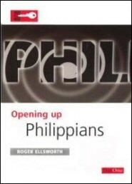 Opening Up Philippians