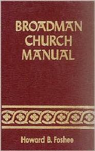 Broadman Church Manual