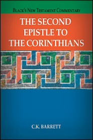 Black's New Testament Commentary: The Second Epistle to the Corinthians