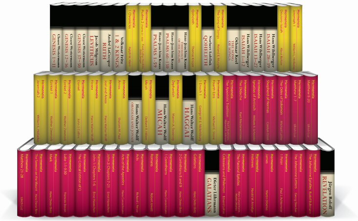 Hermeneia and Continental Commentaries (63 vols.)