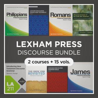 Lexham Discourse Bundle (15 vols., 2 courses) with Datasets