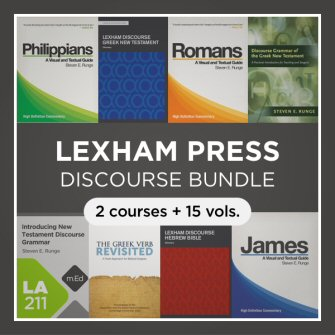 Lexham Discourse Bundle (15 vols., 2 courses) with Datasets