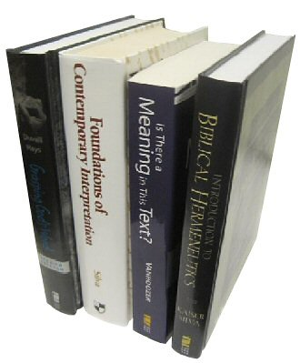 Zondervan Hermeneutics Collection (4 vols.)