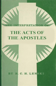 The Interpretation of the Acts of the Apostles