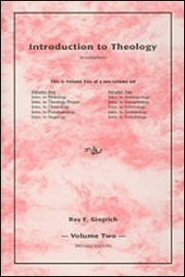 Introduction to Theology, vol. 2