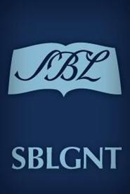 The Greek New Testament: SBL Edition (SBL)