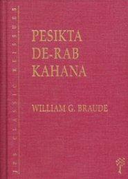Pesikta de-Rab Kahana