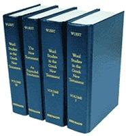 Wuest's Word Studies in the Greek New Testament