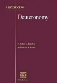 A Handbook on Deuteronomy