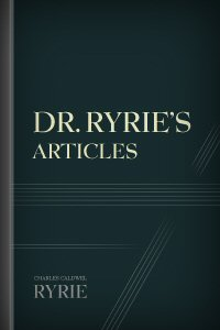 Dr. Ryrie's Articles