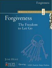 Biblical Counseling Keys on Forgiveness