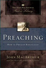 MacArthur Pastor's Library on Preaching