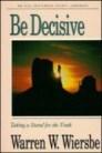 Be Decisive (Jeremiah)