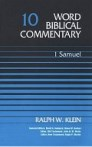 Word Biblical Commentary, Volume 10: 1 Samuel