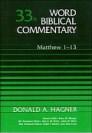 Word Biblical Commentary, Volume 33a: Matthew 1–13