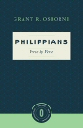 Philippians: Verse by Verse (Osborne New Testament Commentaries)