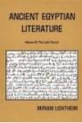 Ancient Egyptian Literature, vol. 3