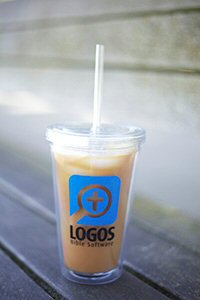 Logos Cold Beverage Tumbler