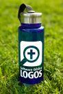 Botella de agua Logos