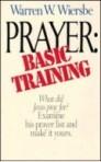 Prayer: Basic Training