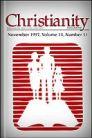 Christianity Magazine: November, 1997: Responding to God