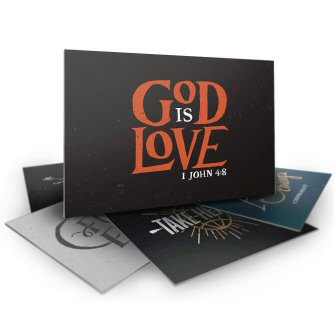 Bible Verse Postcards (set of 10)