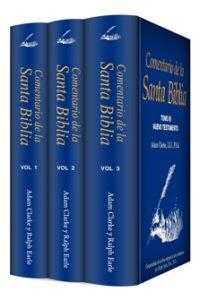 Colección Casa Nazarena: Comentario de la Santa Biblia (3 vols.)